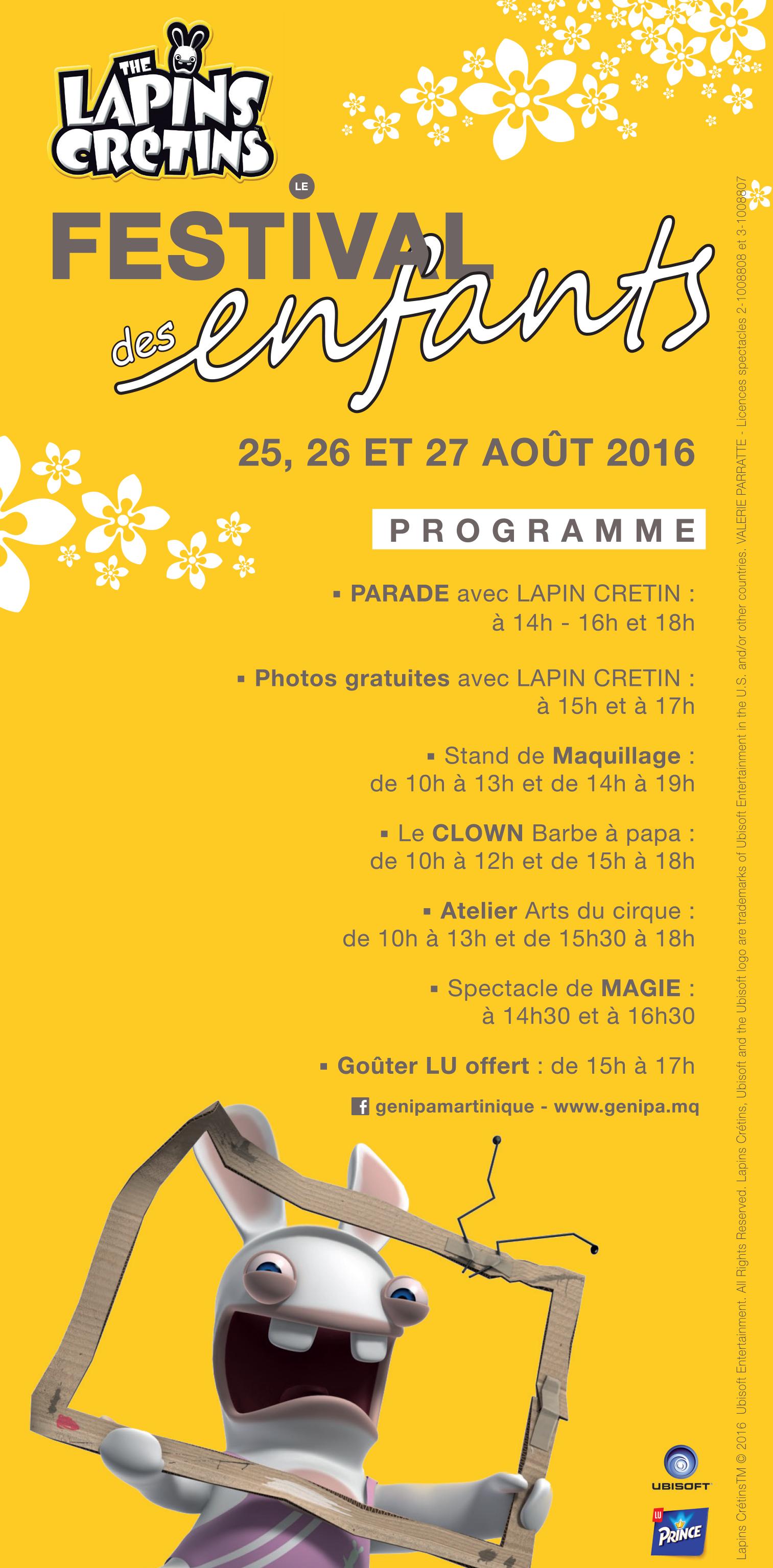 Programme Festival des enfants